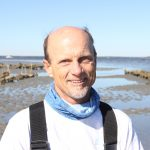 UNC Institute of Marine Science faculty member Niels Lindquist