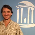 Photo of Ryan Neve, UNC Institute of Marine Sciences IT technical support and engineer in the Luettich Lab