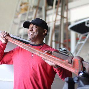 Wayne Fluellen, UNC Institute of Marine Sciences Staff Member - Facility Maintenance Technician