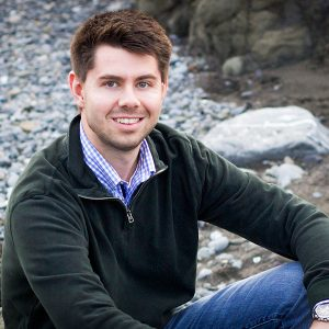 Ethan Theuerkauf is a UNC Institute of Marine Sciences graduate student and a Rodriguez Lab Member