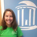 Molly Bost, Research Technician within the Rodriguez Lab at UNC's Institute of Marine Sciences