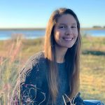 photo of UNC Institute of Marine Sciences graduate student Molly Bost