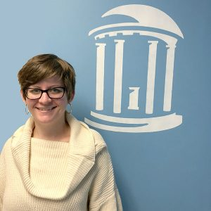 Megan Hunter is an administrative assistant at the UNC Institute of Marine Sciences